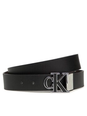 Calvin Klein Jeans Calvin Klein Jeans Ζώνη Ανδρική Mono Hardware Revadj Belt K50K507243 Μαύρο