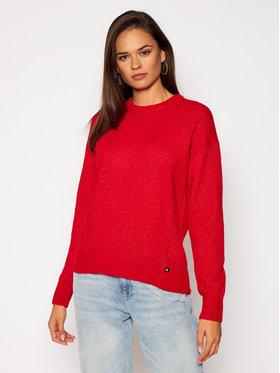 Calvin Klein Jeans Calvin Klein Jeans Svetr J20J214823 Červená Relaxed Fit