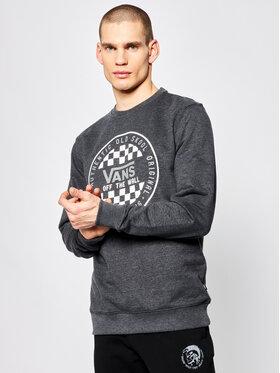 Vans Vans Sweatshirt Checker Crew VN0A49TLBHH1 Schwarz Regular Fit