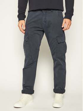 Alpha Industries Alpha Industries Pantaloni din material Agent 158205 Bleumarin Regular Fit