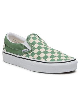 Vans Vans Πάνινα παπούτσια Classic Slip-On VN0A33TB43B1 Πράσινο