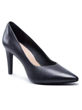 Clarks Clarks Pantofi cu toc subțire Genoa85 Court 261584604 Negru