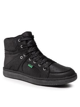 Kickers Kickers Kotníková obuv Lowell 739352-30 D Černá