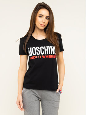 MOSCHINO Underwear & Swim MOSCHINO Underwear & Swim Tricou A1905 9003 Negru Regular Fit