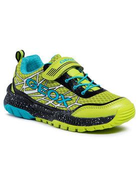 Geox Geox Sneakersy J Tuono B. B J15AXB 014CE C3707 S Zelená