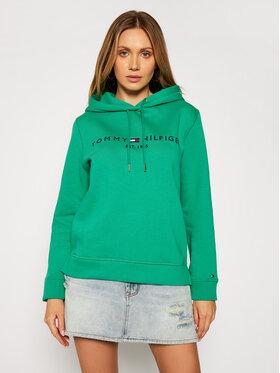 Tommy Hilfiger Tommy Hilfiger Sweatshirt Essential WW0WW26410 Vert Regular Fit