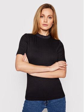 Calvin Klein Jeans Calvin Klein Jeans Blúz J20J215230 Fekete Slim Fit