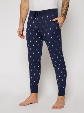 Polo Ralph Lauren Polo Ralph Lauren Pyžamové nohavice Printed Camo 714735005006 Tmavomodrá