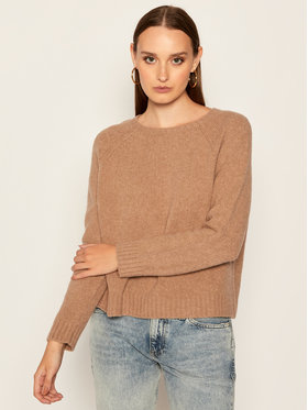 Weekend Max Mara Weekend Max Mara Sweter Amici 53662109 Brązowy Regular Fit