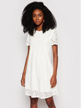 Desigual Desigual Sukienka letnia Nilo 21SWVKB1 Biały Regular Fit