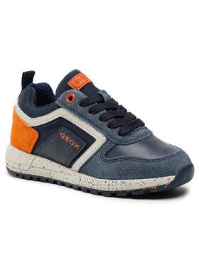 Geox Geox Sneakersy J Alben B. D J049ED 022FU C0820 M Tmavomodrá