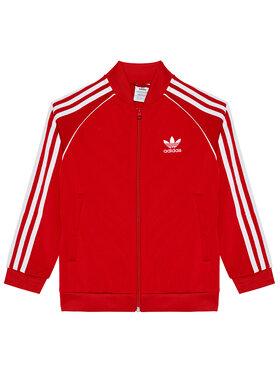 adidas adidas Sweatshirt Unisex adicolor Sst Track GN8449 Rot Regular Fit