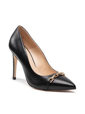 Solo Femme Solo Femme Pantofi cu toc subțire 34319-32-A19/E45-04-00 Negru