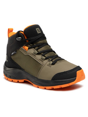 Salomon Salomon Παπούτσια πεζοπορίας Outward Cswp J 409723 09 W0 Πράσινο