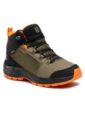 Salomon Salomon Trekingová obuv Outward Cswp J 409723 09 W0 Zelená