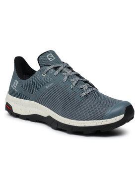 Salomon Salomon Παπούτσια πεζοπορίας Outline Prism Gtx GORE-TEX 412333 26 M0 Γκρι