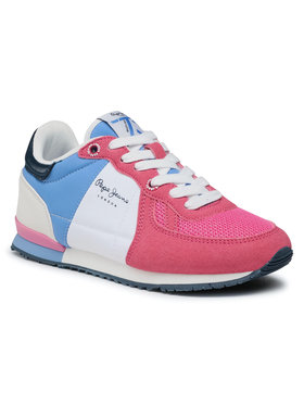 Pepe Jeans Pepe Jeans Sneakersy Sydney Basic Girl PGS30497 Różowy