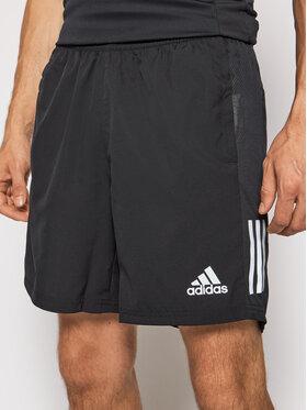adidas adidas Szorty sportowe Own The Run FS9807 Czarny Regular Fit