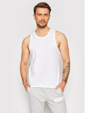 Calvin Klein Performance Calvin Klein Performance Tank top marškinėliai Logo Gym 00GMT1K108 Balta Regular Fit