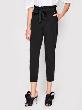 Rinascimento Rinascimento Spodnie materiałowe CFC0102131003 Czarny Slim Fit