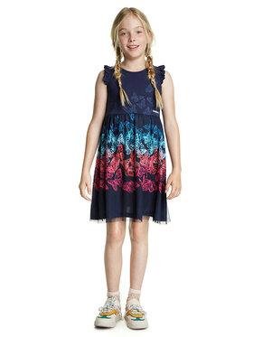 Desigual Desigual Sukienka codzienna Uruapan 20SGVK47 Granatowy Regular Fit