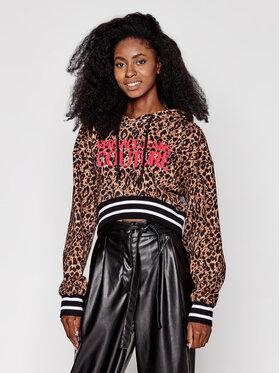 Versace Jeans Couture Versace Jeans Couture Mikina B6HZA787 Hnědá Regular Fit