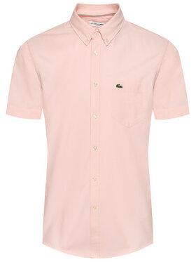 Lacoste Lacoste Chemise CH4975 Rose Regular Fit