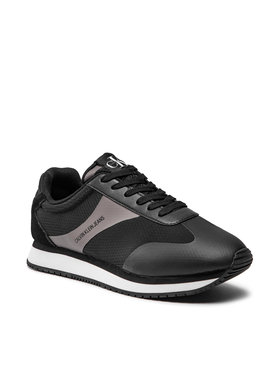 Calvin Klein Jeans Calvin Klein Jeans Сникърси Runner Sneaker Laceup Ny YM0YM00039 Черен
