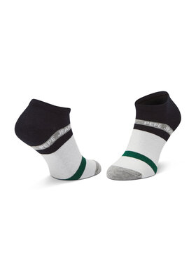 Pepe Jeans Pepe Jeans Комплект 3 чифта къси чорапи мъжки Dunham PMU10708 Черен