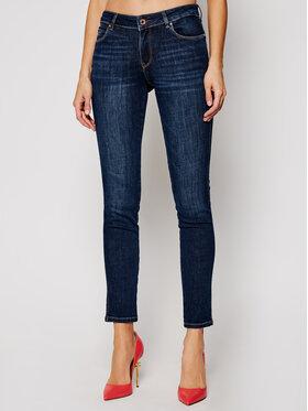 Guess Guess Skinny Fit džíny Ultra Curve W1RA37 D4AK1 Tmavomodrá Skinny Fit