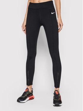 Nike Nike Leggings Sportswear Leg-A-See CU5385 Nero Slim Fit