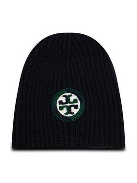Tory Burch Tory Burch Czapka Color-Block Logo Hat 76488 Granatowy