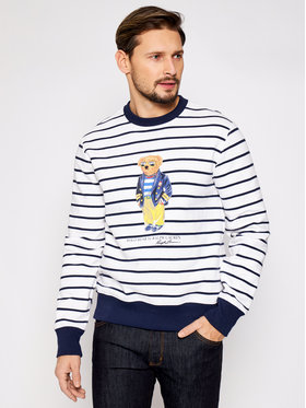 Polo Ralph Lauren Polo Ralph Lauren Bluza Lsl 710837970001 Biały Regular Fit