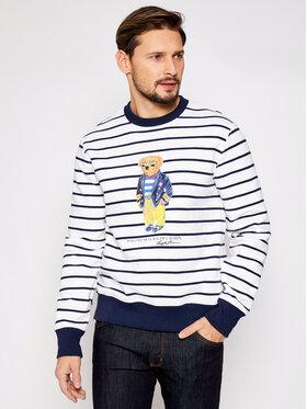 Polo Ralph Lauren Polo Ralph Lauren Sweatshirt Lsl 710837970001 Blanc Regular Fit