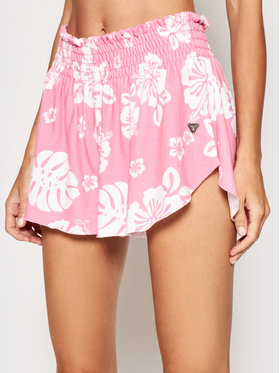Guess Guess Stoffshorts E1GD05 JR06D Rosa Relaxed Fit