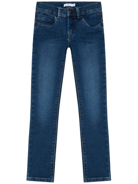 NAME IT NAME IT Džínsy Silas 13190372 Modrá Slim Fit