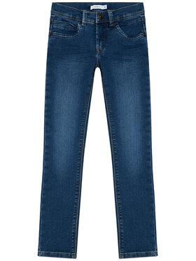 NAME IT NAME IT Jeansy Silas 13190372 Modrá Slim Fit