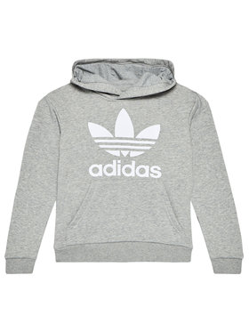 adidas adidas Sweatshirt Trefoil GE1979 Grau Regular Fit