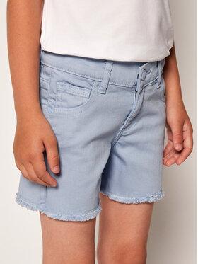 Guess Guess Short en tissu K02D06 WCTF0 Bleu Regular Fit