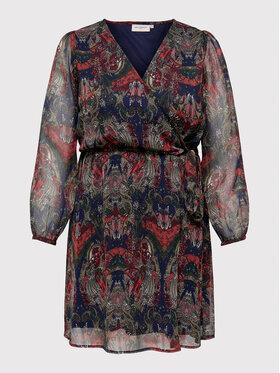 ONLY Carmakoma ONLY Carmakoma Sukienka letnia Cordelia 15258264 Kolorowy Regular Fit
