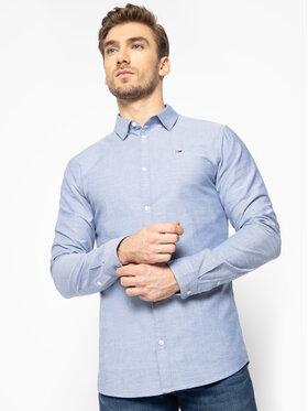 Tommy Jeans Tommy Jeans Košile Tjm Oxford DM0DM06562 Modrá Slim Fit