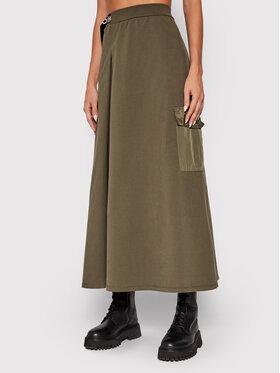 Liu Jo Liu Jo Midi suknja TF1069 F0843 Zelena Regular Fit