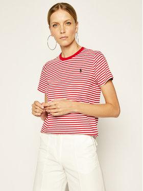 Polo Ralph Lauren Polo Ralph Lauren T-shirt 2,12E+11 Rouge Regular Fit