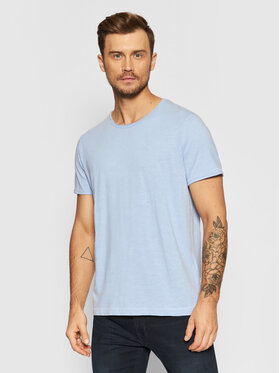 Selected Homme Selected Homme T-Shirt Morgan 16071775 Modrá Regular Fit