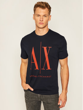 Armani Exchange Armani Exchange T-Shirt 8NZTPA ZJH4Z 0535 Dunkelblau Regular Fit