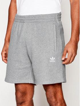 adidas adidas Αθλητικό σορτς Trefoil Essentials GD2555 Γκρι Standart Fit