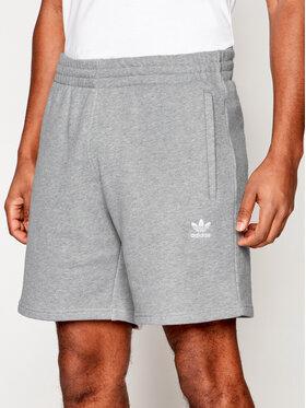 adidas adidas Sportiniai šortai Trefoil Essentials GD2555 Pilka Standart Fit