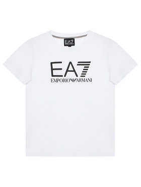 EA7 Emporio Armani EA7 Emporio Armani Тишърт 6KBT53 BJ02Z 1100 Бял Regular Fit