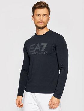 EA7 Emporio Armani EA7 Emporio Armani Marškinėliai ilgomis rankovėmis 6KPT64 PJ03Z 1578 Juoda Regular Fit