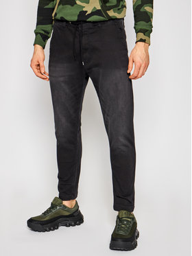 Pepe Jeans Pepe Jeans Joggers kalhoty GYMDIGO New Johnson PM205897 Černá Relaxed Fit